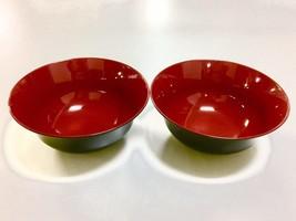JapanStyle Japanese Ramen Donburi Bowl 183cm 82g [Black x Vermilion ] ×2pcs - $22.76
