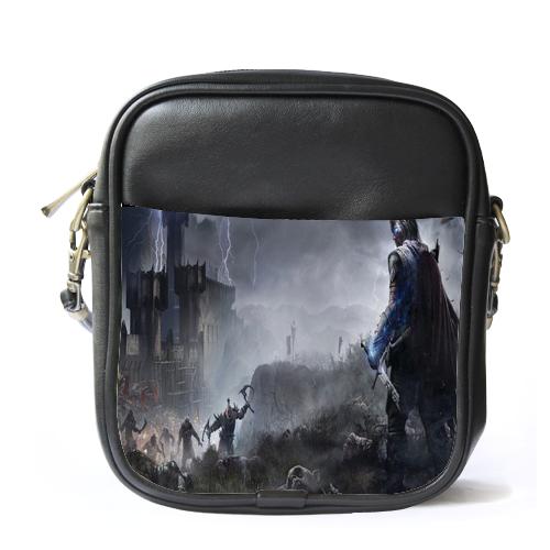 Sb1100 sling bag leather shoulder bag middle ear
