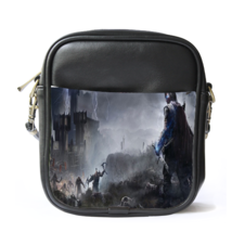 Sling Bag Leather Shoulder Bag Middle Earth Shadow Of Mordor World Actio... - $14.00