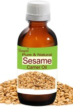Sesame Oil- Pure & Natural Carrier Oil- 50ml Sesamum indicum by Bangota - $9.26