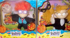 1998 Nickelodeon Rugrats Angelica Chuckie Halloween Figure Mattel LOT MISB NEW - $33.99