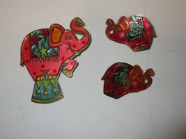 "Costume  Jewelry , Elephant Pin / Earrings , 2""X2""/11/2"" X 1"" ,Please Se... - $19.80"