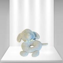 Carter's Child Of Mine Soft Blue Elephant Plush Rattle Stuffed Animal Ba... - $17.81