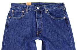Levi's 501 Men's Original Fit Straight Leg Jeans Button Fly 501-0194 image 2