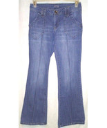 APT 9 Womens Size 4 Stretch Bootcut Jeans Light Wash Seam Front Flap Poc... - $14.85