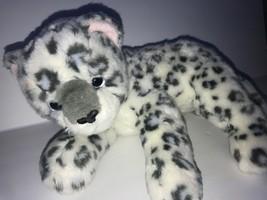 "Ty 2004 Sundar White Snow Leopard Beanie Buddies Stuffed Animal 12"" - $38.64"