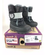 Kamik Snowbug3 Toddler 5T Black Winter Snow Boots NEW with Box - $31.85