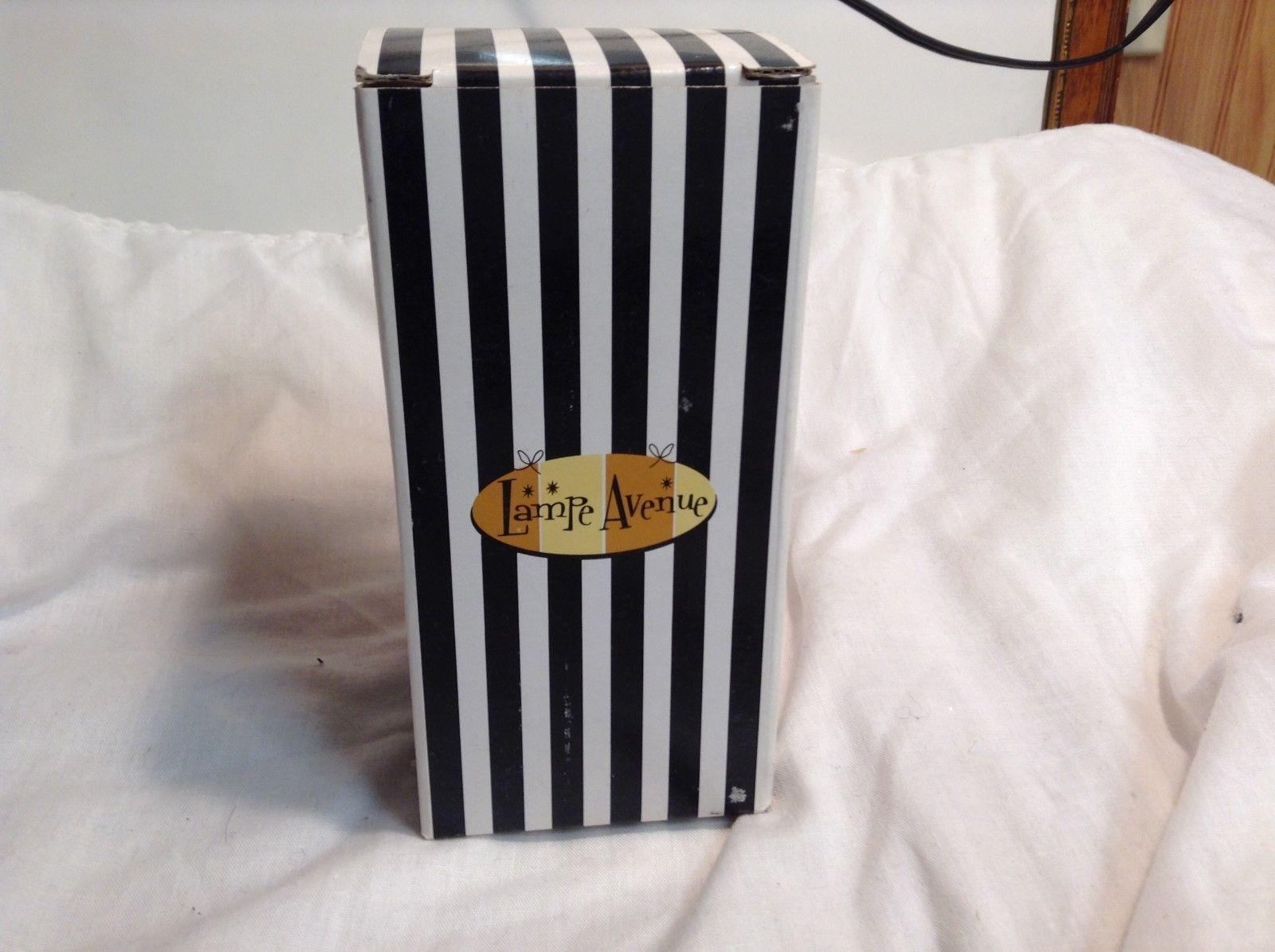 NEW Lampe Avenue Fashion Forward Fragrance Lamp in Black