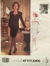 Vogue TOM & LINDA PLATT Misses Jacket & Skirt Size 6-8-10 Pattern 1052 U... - $29.70