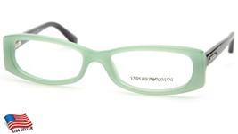 New Emporio Armani Ea 3007 5085 Aqua Green Opal Eyeglasses Frame 51-16-135mm - $53.89