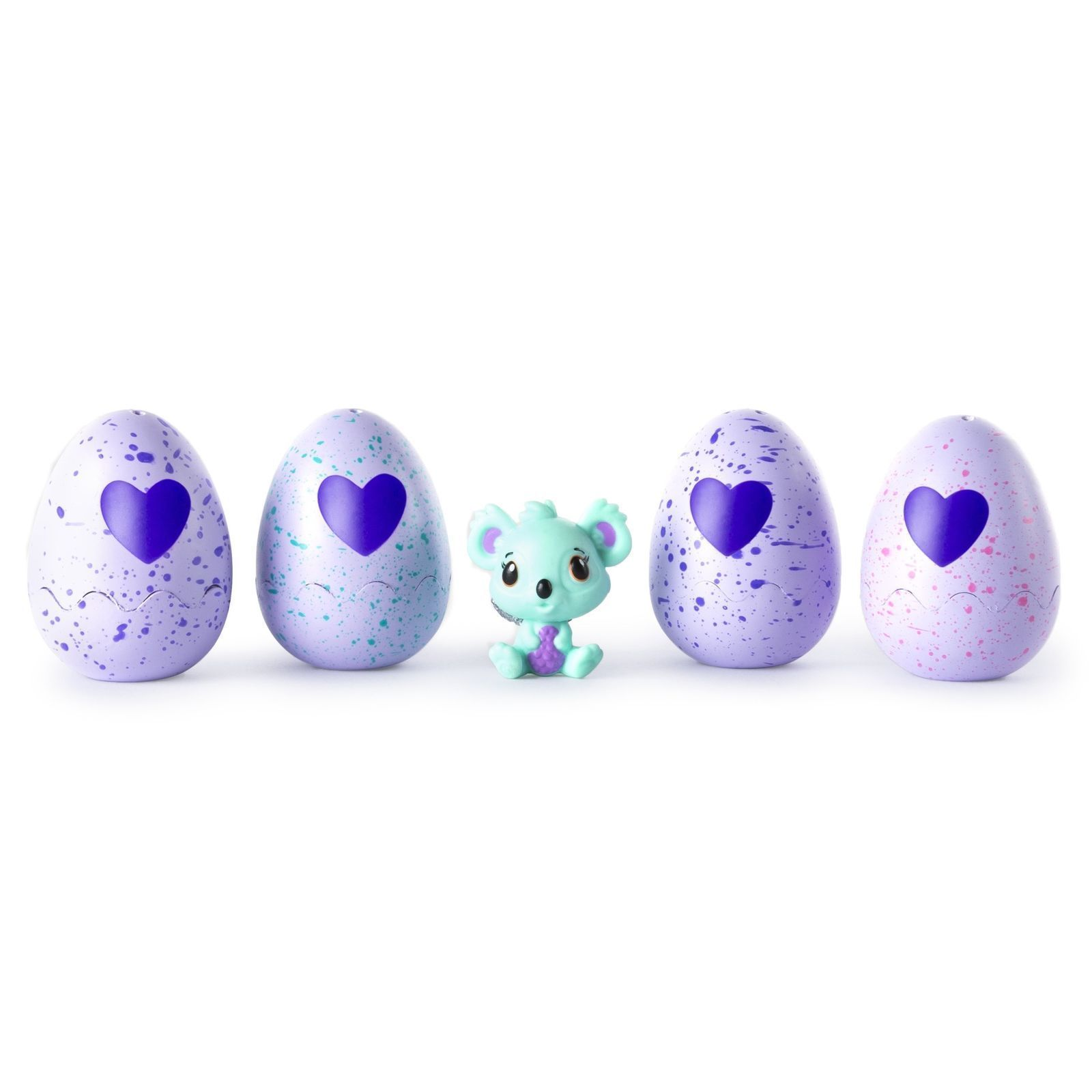 Hatchimals CollEGGtibles 4-Pack + Map + Bonus ( Styles & Colors May Vary )
