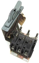 ALLEN BRADLEY 1494F-NF100 FUSIBLE DISCONNECT SWITCH SER. A, 100 AMP