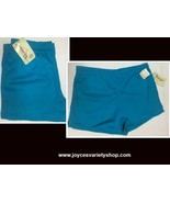 Generation One Women's Active Shorts Drawstring NWT Sz L Turquoise - $10.99