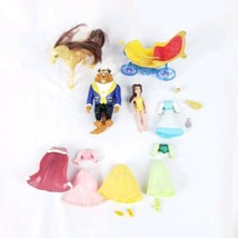 Disney Princess Polly Pocket Dolls Accessories Belle Beauty & the Beast #S1 - $10.89