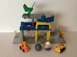Fisher Price Little People Fun Sound Crane Construction Quarry Play Set - $14.99