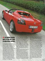 Magazine Ad Article Motor Trend 2000 On Pontiac Opel - $5.93
