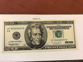 United States $20.00 uncirc. banknote 1996 #7 - $39.95