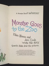 "Vintage 1973 Set of 3 ""Monster"" books from Bowmar image 9"