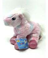 """Webkinz Tie Dye Pink Pony with Sealed Code HM117 Plush Stuffed Animal 8""""... - $12.00"""