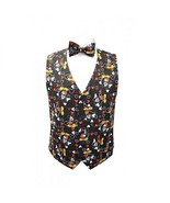 Mickey Mouse Celebration Tuxedo Vest and Bowtie - $135.00