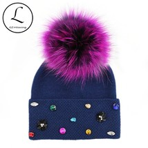 GZHILOVINGL Quality Winter Wool Thick Soft Designer Hats Women Girls Sku... - $25.50