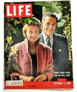 LIFE Magazine VTG Oct 17 1960 RARE Sample Henry Cabot Automobiles Mickey... - $26.61