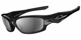 New Oakley Straight Jacket Sunglasses 12-935 Jet Black 61-18-135 Fast Ship - $187.31