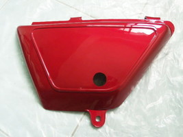 Suzuki TS100 TS125 DS100 (1978-1979) Left Side Cover LH Red New - $9.79