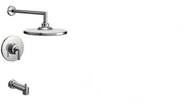 Primary image for Moen TS22003 Arris Posi-Temp Pressure Balancing Modern Tub and Shower Trim Kit