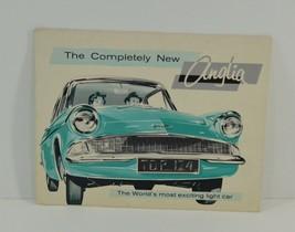 1960 Ford Anglia Foldout Automobile Car Brochure Dagenham England Division - $8.09