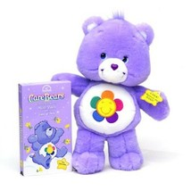 "2003 Care Bears Electronic HARMONY Purple Talking Stuffed Plush 13"" - $58.04"