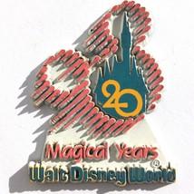 Vintage Walt Disney World 20 Magical Years 1991 Magnet - $9.99
