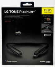 Harman Kardon/LG - TONE PLATINUM+ Bluetooth Headset - Black. Brand NEW. - $147.50
