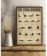Yin Yoga Asanas Vertical Art Poster For Indoor Home Decoration, Christma... - $25.59+