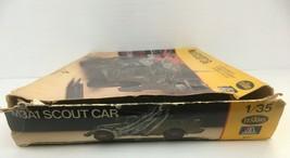 ITALERI TESTORS M3A1 SCOUT CAR 1:35 SCALE MODEL KIT #817 1982 - $22.77