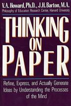 Thinking on Paper by V.a. Howard (1988-02-25) [Paperback] image 1