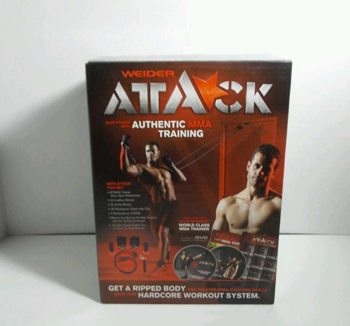 Authentic MMA Complete DVD Training System Kit with Scott Mc Kendry New