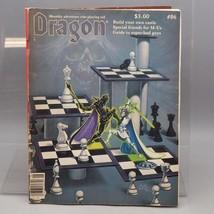 Vintage TSR The Dragon Rivista #86 D&d Ad&d - $32.18