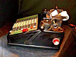 Antique Burroughs Hand Crank Adding Machine AA19-1533 image 7
