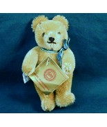 Gebr-Hermann Original Teddy Bear Golden brown 5 inches tag c1985 - $25.00