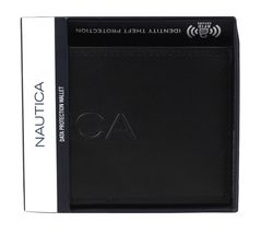 Nautica Men's Genuine Leather Credit Card Billfold Coin Rfid Wallet 31NU130015 image 11