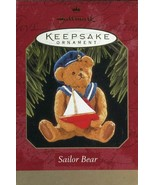 1997 New in Box - Hallmark Keepsake Christmas Ornament - Sailor Bear - $4.45