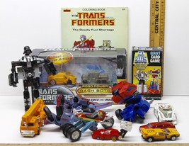 Transformer Action Figure Hasbro LFL Takara Lot Bash Bots Go Bots Card G... - $41.13