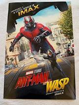 "Marvel's ANT-MAN And The Wasp 13""x19"" Original Promo Movie Poster Imax Version 2 - $14.69"