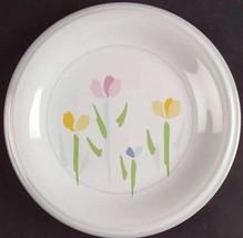 Fresh Mint by STUDIO NOVA Villager Line Floral Set of 2 Salad Plate 7 3/4 in - $12.12