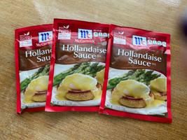 3 Mccormick Hollandaise Sauce Mix 1.25 oz  Exp 1/2021 - $15.84