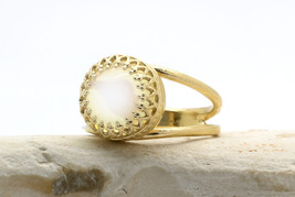 opal ring,quartz ring,gold ring,14k solid gold ring,custom metal ring - $36.45+