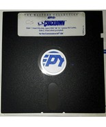 "Commodore 64 L.A. Crackdown by Epyx C64/128 5.25"" floppy disk 1988 - $10.29"