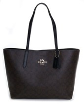 Coach Women's Signature Avenue Tote No Size (Im/Brown/Black) - $164.83