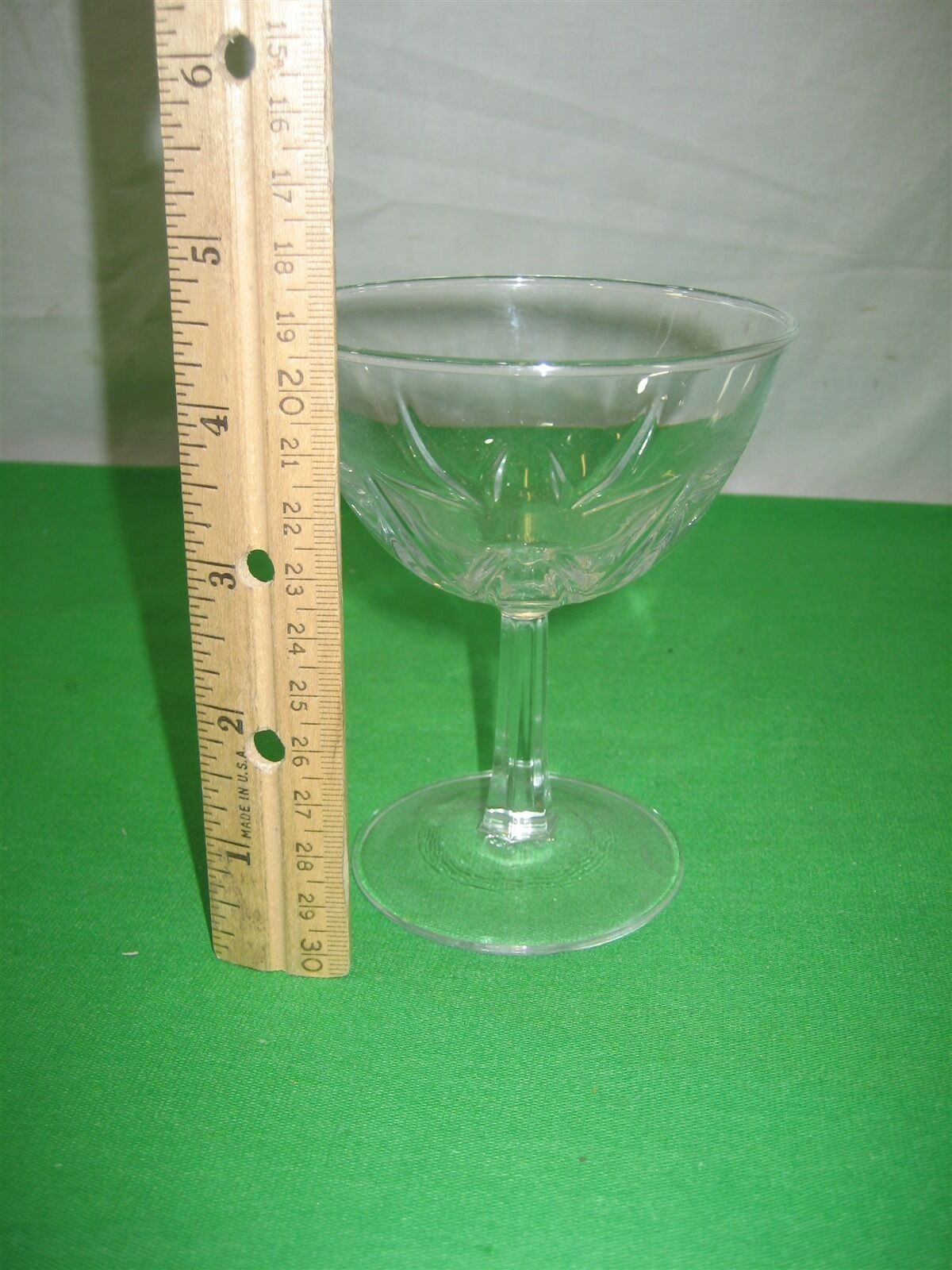 Clear Crystal Glass Glassware Stemware Stem Wine Champagne Goblets 4.5""
